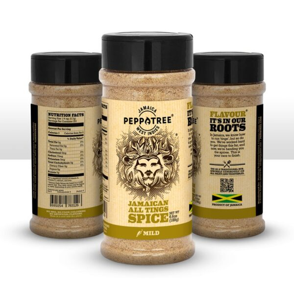 Peppatree - Jamaican All Tings Spice