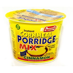 Pronto - Cinnamon Cornmeal Porridge Mix
