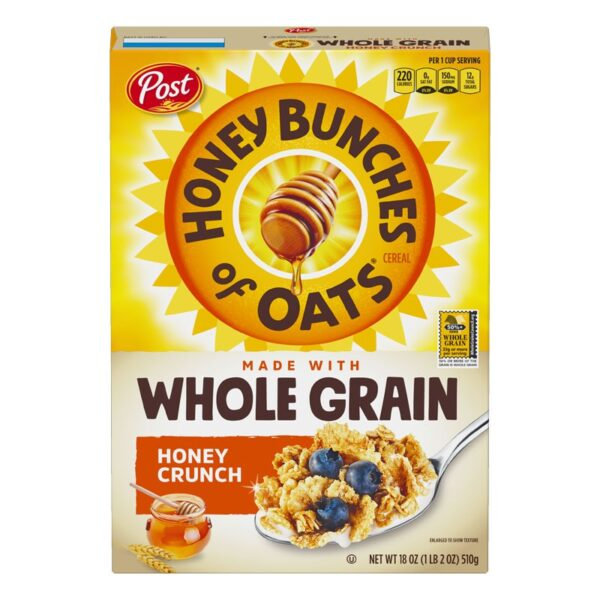 Post - Honey Bunches of Oats - Honey Crunch