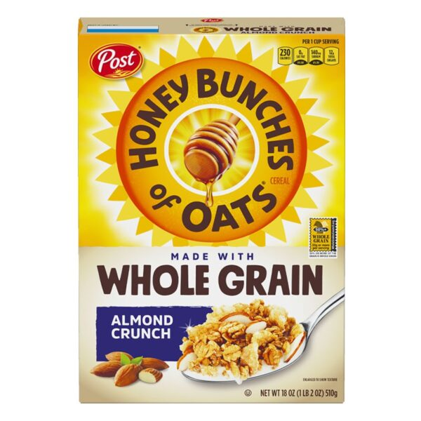 Post - Honey Bunches of Oats - Almond Crunch