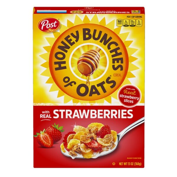 Post - Honey Bunches of Oats - Strawberries