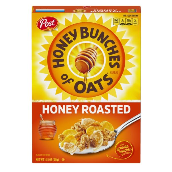Post - Honey Bunches of Oats - Honey Roasted