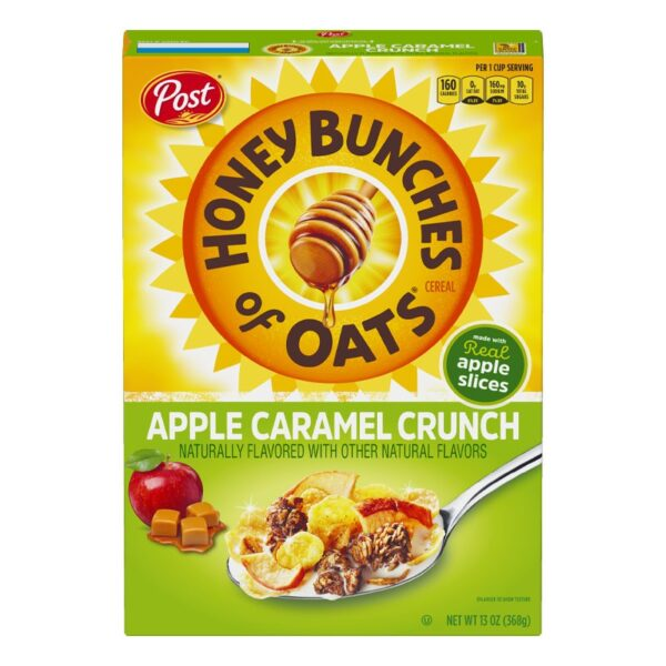 Post - Honey Bunches of Oats - Apple Caramel Crunch