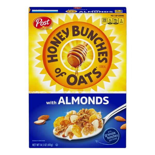 Post - Honey Bunches of Oats - Almonds