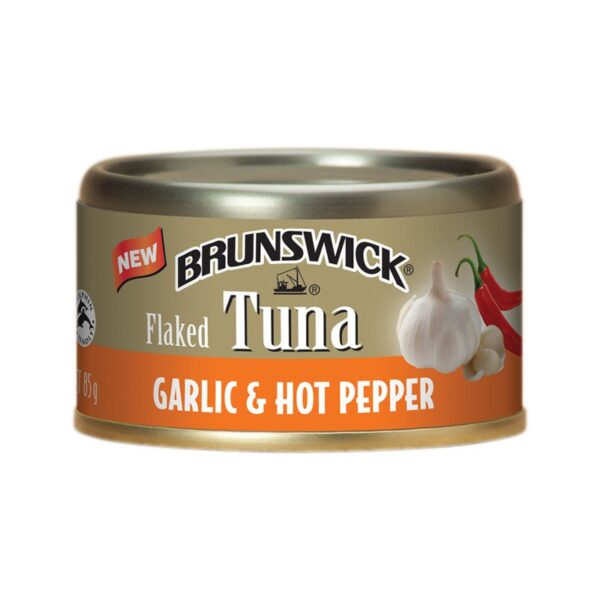 Brunswick - New Flaked Tuna - Garlic & Hot Pepper
