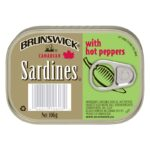 Brunswick - Canadian Sardines - With Hot Peppers