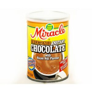 Miracle - Sweetened Instant Chocolate - With Hazelnut Flavour